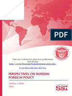 Perspectives on Russian Foreign Policy