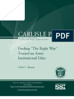 "Finding ""The Right Way"""