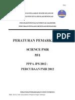 Skema Pemarkahan Pppa Sains Pmr 2012 k1