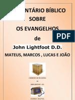 Comentario Bíblico dos Evangelhos - John Lightfoot