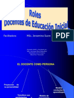 Rol Docente Inicial