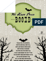 Spooky Forest FREE Printable BOO SIGN