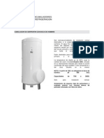 Tanques Termoacumuladores Para Sistema de Refrigeracion