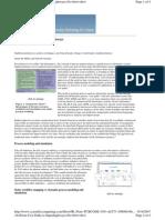 Process Analysis Modeling
