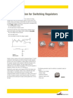 Switching Regulator Inductor Application Guide