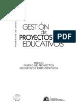 Diseño de Proyectos Educativos Participativos CISE
