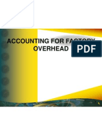 3-Accounting for Factory Overhead