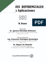 Ecuaciones Diferenciales Y Sus Aplicaciones - M. Braun