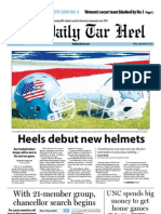 The Daily Tar Heel for September 28, 2012