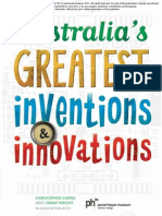 October Free Chapter - Australia's Greatest Inventions & Innovations by Christopher Cheng, Linsay Knight and The Powerhouse Museum