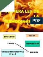 PRIMERA LEY DE LA TERMODINÁMICA QFB EDUARDO HERNANDEZ TORRES