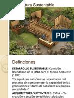 S1-Arquitectura Sustentable
