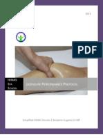 Licensure Performance Protocol HiMAS Version