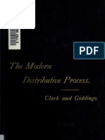 John Bates Clark, The Modern Distributive Process