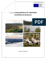 The Georange guidelines for stakeholder consultation and disclosure