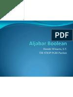 04 Aljabar Boolean