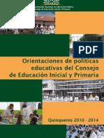 Orientaciones Politicas Educativas.CEIP