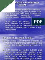 Introduccion a La Gerencia Social