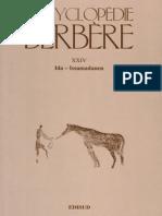 Encyclopédie Berbère Volume 24