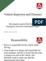 Vehicle Inspection Tasks