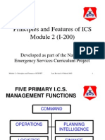 Incident Command System Modules