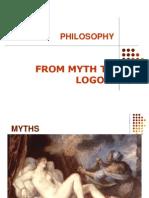 From Myth to Logos
