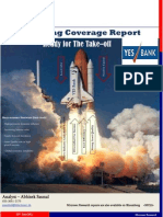 Initiating Coverage Report - YES Bank