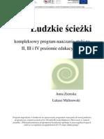 Ludzkie Sciezki-kompleksowy Program Nauczania Etyki Na II III i IV Poziomie Edukacyjnym