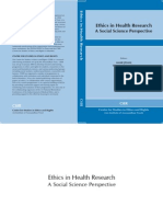 Ethics in Health Research CSER