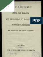 Catecismo Civil de España 1808