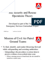 Aircraft Crash Site Procedures