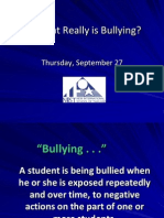 NLCS Bullying Workshop 2012