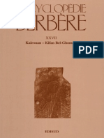 Encyclopédie Berbère Volume 27