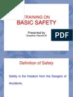 Basic Safety Training Ppt