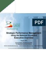 BSC Executive Overview_Critical Few Slides_HR2 (ART)
