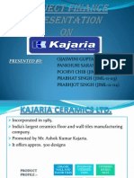 Ppt on Kajaria