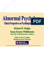 Abnormal Psychology Ppt Chapter 07
