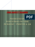 Fire & Safety Training Presentation
