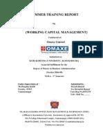 WorkingCapitalManagement(Omaxe)