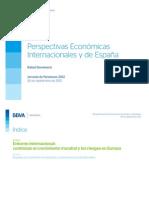 Perspectivas Económicas España 2013 - BBVA Research