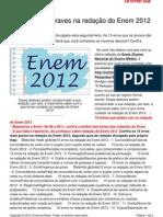 15 Erros Mais Graves Na Redaco Do Enem 2012