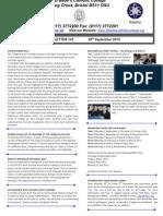Newsletter 147 28.09.12