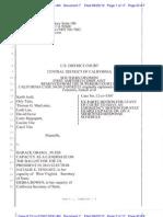 2012-09 - 22 CDCA - JUDD v OBAMA - Ex Parte Motion for Emergency Stay - ECF 7