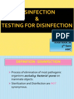 Disinfection _ Testing for Disinfection