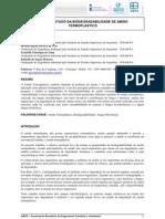 Estudo da biodegradabilidade de amido termoplastico