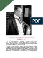 Geo von Lengerke, un bandido alemán en Zapatoca