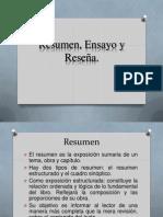 Equipo 5 Resumen, Ensayo y Reseña