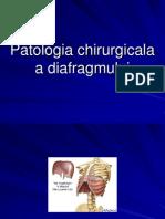 patologia diafragmului