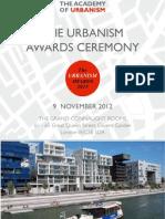 The Urbanism Awards Ceremony 2012