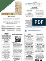 12.09.30 WHSG News Sheet